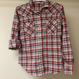 Vintage Levi's western shirt, size small